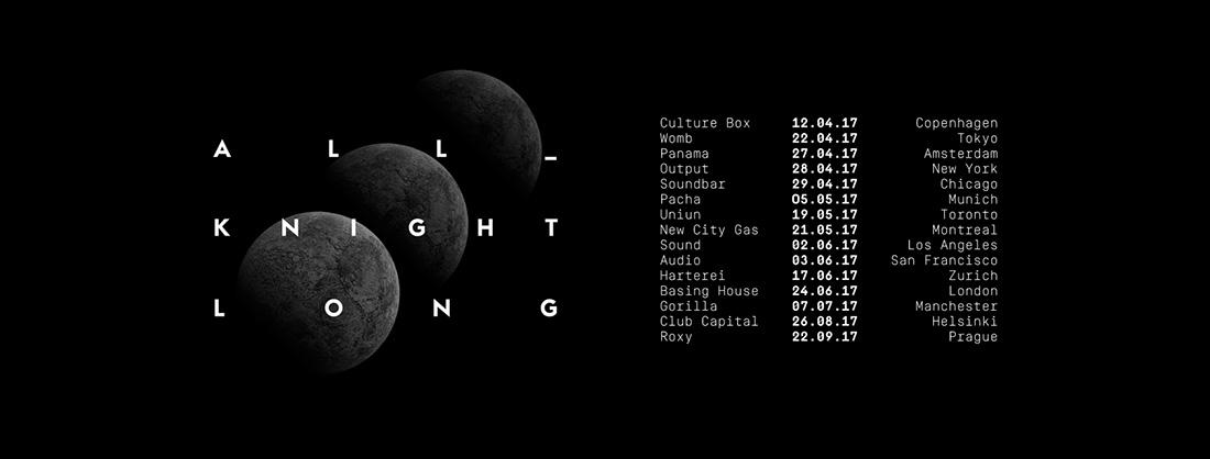 Mark Knight All Night Long Tour
